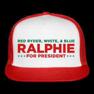 Ralphie for President Christmas Story Trucker Cap - Trucker Cap