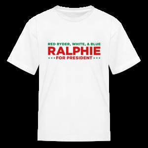 Ralphie for President - Kids' T-Shirt