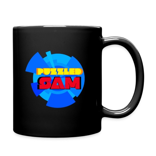 PuzzledSam Colored Logo Mug - Full Color Mug