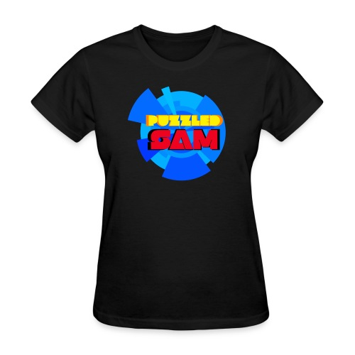 PuzzledSam Regular Women's Logo T-Shirt - Women's T-Shirt