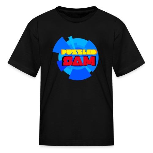 PuzzledSam Regular Kids Logo T-Shirt - Kids' T-Shirt