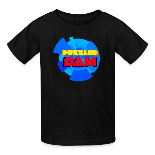PuzzledSam Regular Kids Logo T-Shirt - Kids' T-Shirt