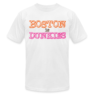 T-Shirts ~ Men's T-Shirt by American Apparel ~ Boston is Dunkies
