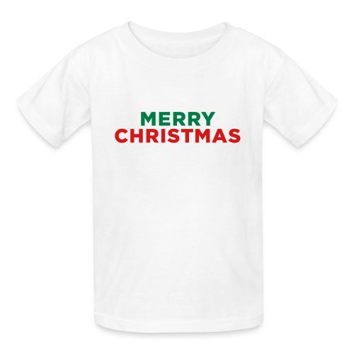 Merry Christmas Kids' Shirts - Kids' T-Shirt