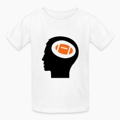 Only Football On My Mind; Football Fan T-shirts Enfant