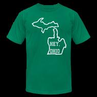 T-Shirts ~ Men's T-Shirt by American Apparel ~ Hey, Ohio!