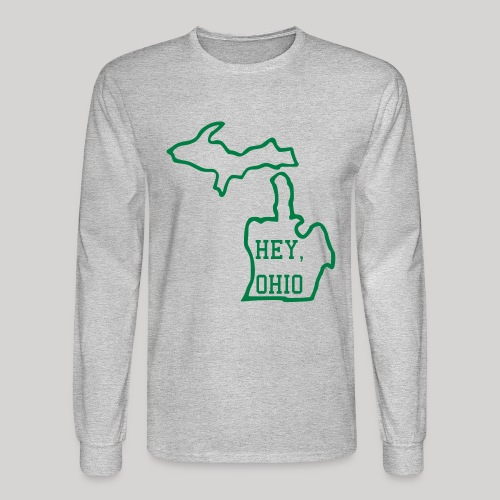 Hey, Ohio! - Men's Long Sleeve T-Shirt