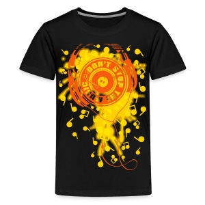 DON'T STOP THE MUSIC - Kids' Premium T-Shirt
