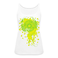 Tanks ~ Women's Premium Tank Top ~ DON'T STOP THE MUSIC