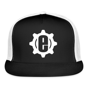 Engineeer Lid B/W - Trucker Cap