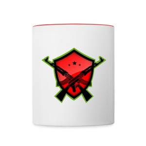Red Gaming Mug - Contrast Coffee Mug