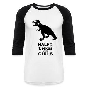 T.rex Men's Baseball Tee - Baseball T-Shirt