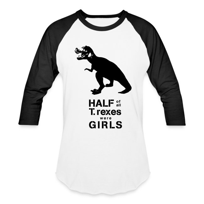 T.rex Men's Baseball Tee