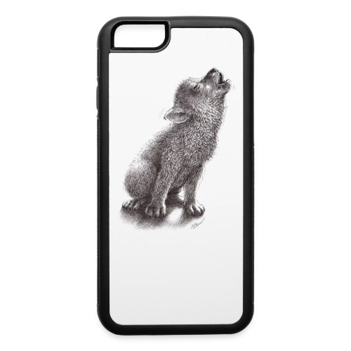Young Howling Wolf - iPhone 6/6s Rubber Case
