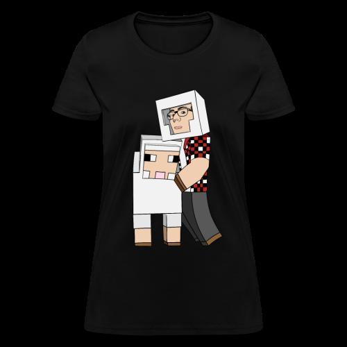 'Sheep With A Sheep' Shirt (Women) - Women's T-Shirt