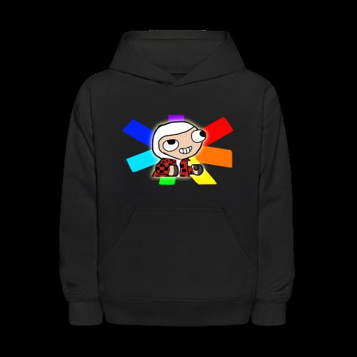 'Rainbow Sheep' Hoodie (Kids) - Kids' Hoodie