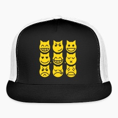 The 9 Lives of the Emoji Cat Caps