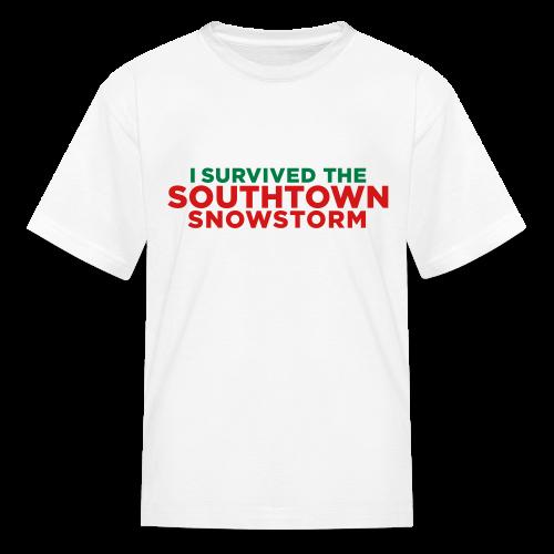 Southtown Snowstorm Kids' Shirts - Kids' T-Shirt
