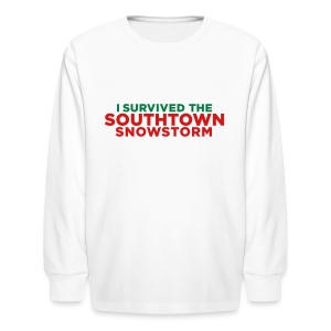 Southtown Snowstorm Kids' Shirts - Kids' Long Sleeve T-Shirt