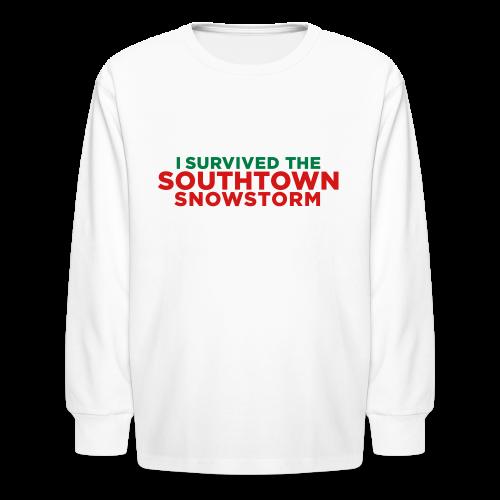 Southtown Snowstorm Kids' Shirts - Kids' Long Sleeve T-Shirt