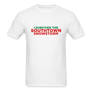 Southtown Snowstorm - Men's T-Shirt