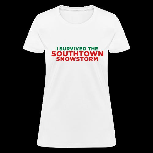 Southtown Snowstorm Women's T-Shirts - Women's T-Shirt