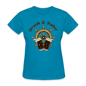 Drunk & Sailor women's t-shirt - Women's T-Shirt
