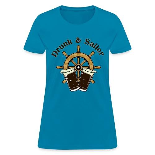 Drunk & Sailor women's t-shirt - Women's T-Shirt