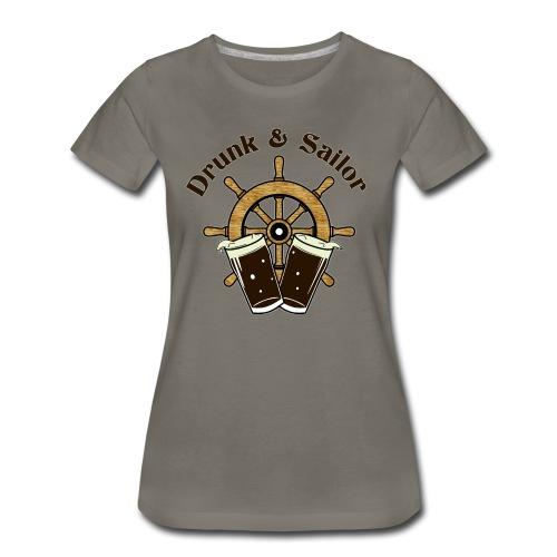 Drunk & Sailor women's FANCY t-shirt - Women's Premium T-Shirt
