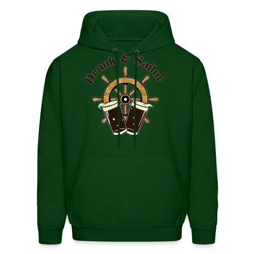 Drunk & Sailor men's hoodie - Men's Hoodie