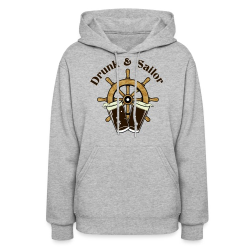 Drunk & Sailor women's hoodie - Women's Hoodie