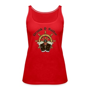 Drunk & Sailor women's tank top - Women's Premium Tank Top