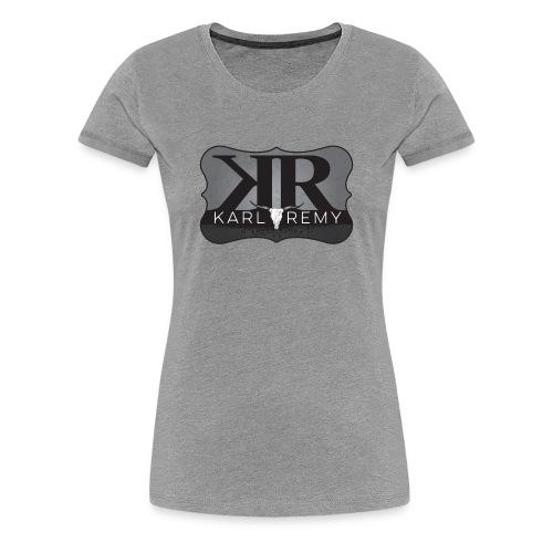 Ladies Karl Remy Tee GRAY - Women's Premium T-Shirt
