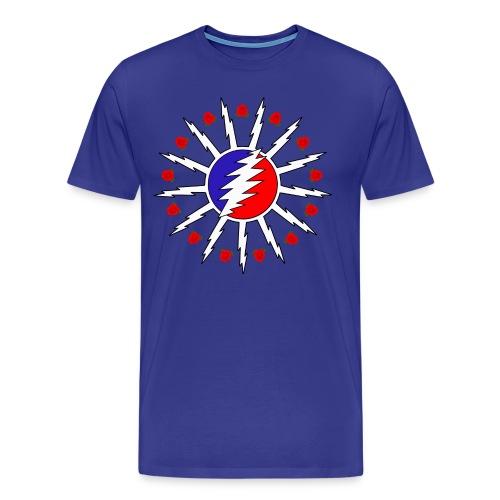 716 Dead Flag w/ Roses - Men's Premium T-Shirt