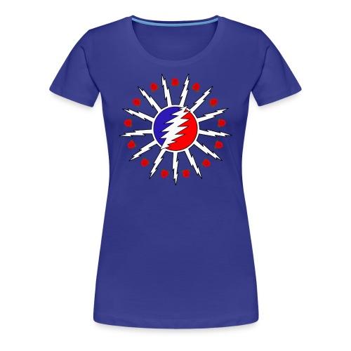 716 Dead Flag w/ Roses - Women's Premium T-Shirt