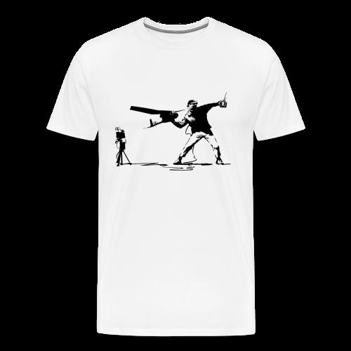 Yank and Banksy - Men's Premium T-Shirt