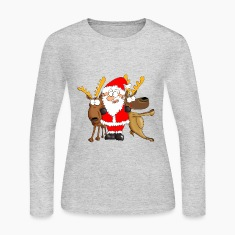 Santa and his Friends Long Sleeve Shirts