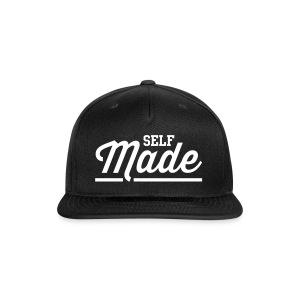 Self Made Black Snapback - Snap-back Baseball Cap