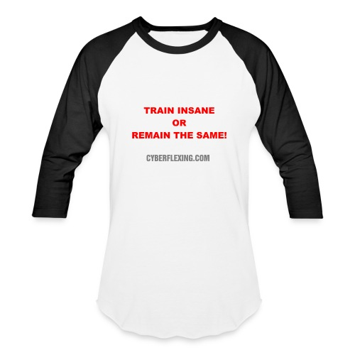 Train Insane - Men's Baseball Shirt - Baseball T-Shirt