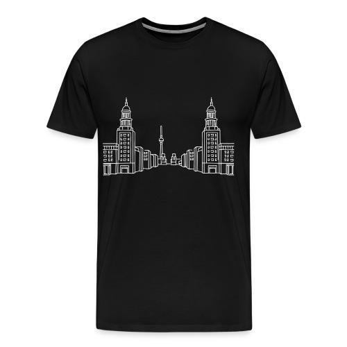 Frankfurter Tor Berlin - Men's Premium T-Shirt