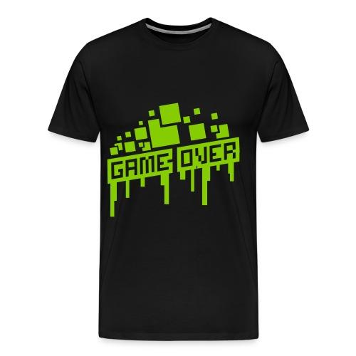 Game Over T-shirt - Men's Premium T-Shirt