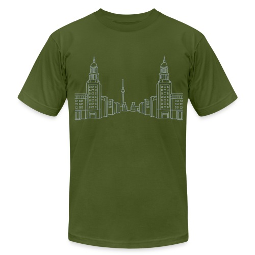 Frankfurter Tor Berlin - Men's Fine Jersey T-Shirt