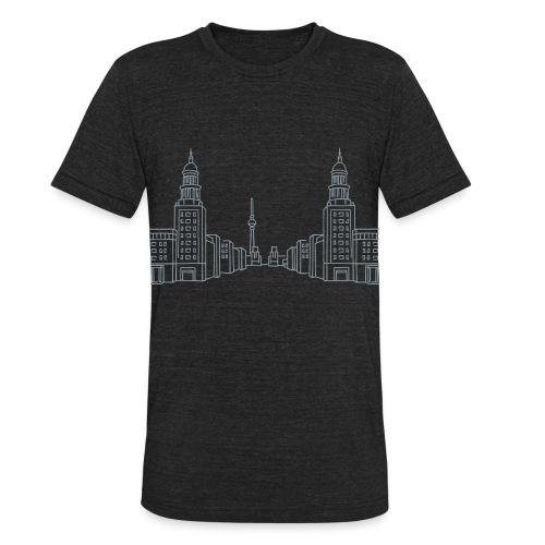 Frankfurter Tor Berlin - Unisex Tri-Blend T-Shirt