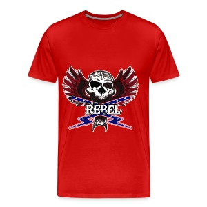 REBEL SKULL - Men's Premium T-Shirt