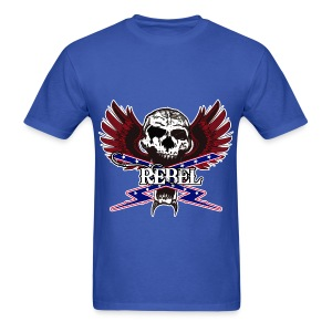 REBEL SKULL - Men's T-Shirt