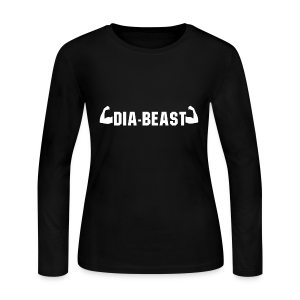 Dia-Beast - Women's Long Sleeve Jersey T-Shirt