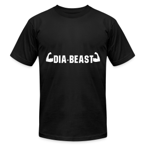 Dia-Beast - Men's T-Shirt by American Apparel