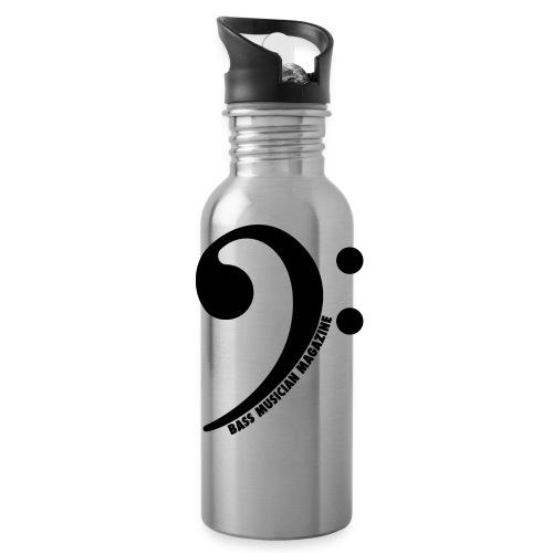 Bass Clef Water Bottle - Water Bottle