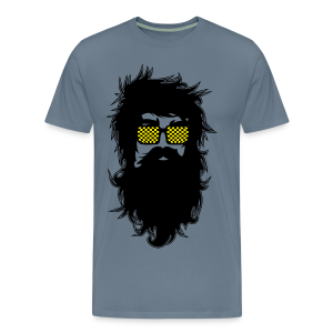 Men With Beards & Glasses - Men's Premium T-Shirt