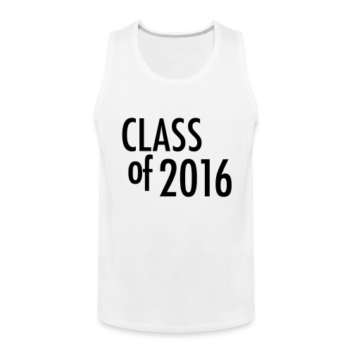 2016 Senior Tank Top - Men's Premium Tank